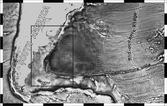 Walvis Ridge Depth Grande Rise/walvis Ridge